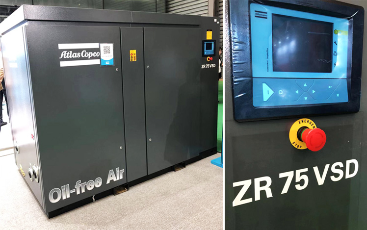 Oil-free Screw and Tooth Compressors ZR and ZT (VSD⁺)