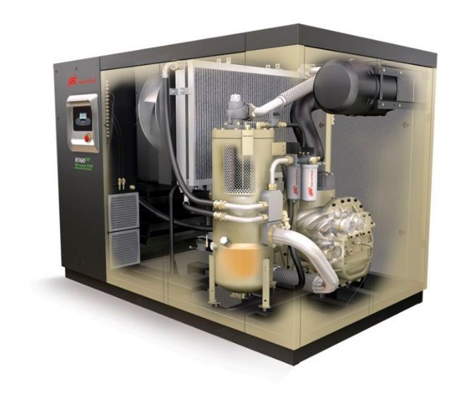 Ingersoll Rand next generation R series RS90KW-160KW oil less Screw Air Compressors